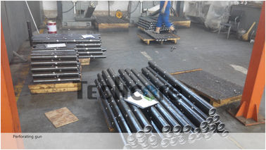 High Pressure Oil Well Perforated Casing High Shot Density Alloy Steel Material