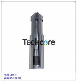 Pear Drop Type Oil Well Downhole Slickline Rope Socket Wireline Tools